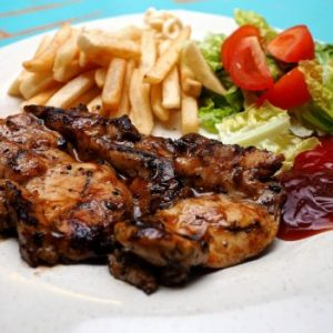 Grilled Chicken Chop